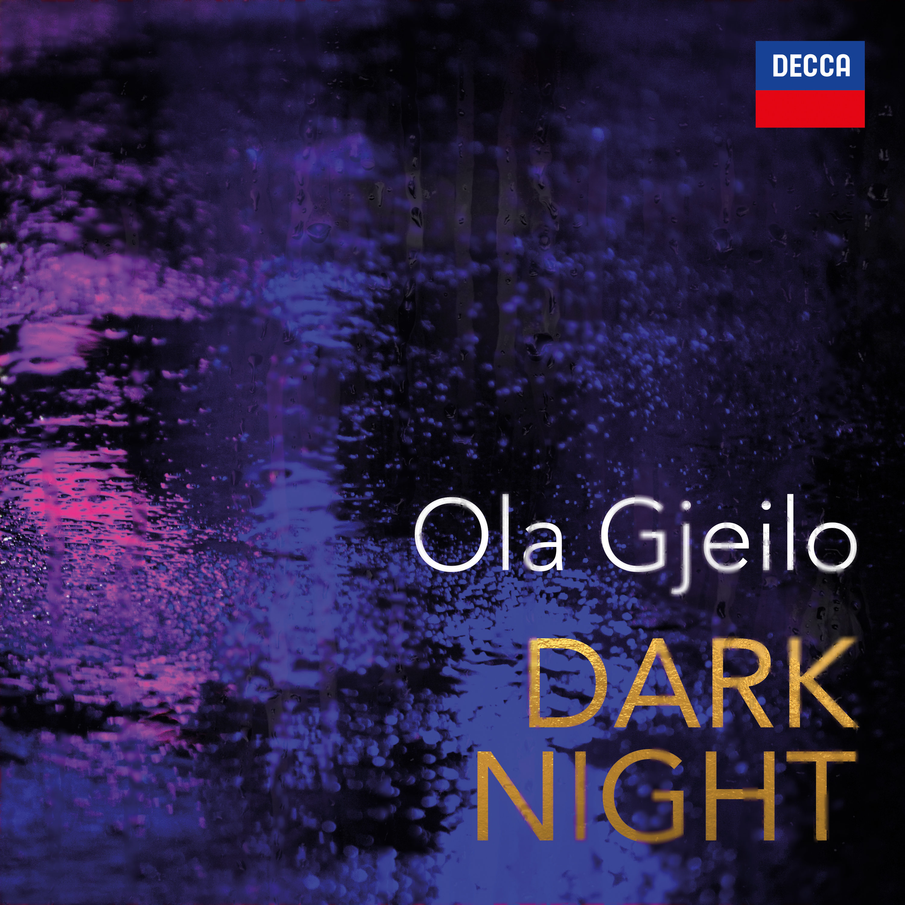 Dark Night album cover by Ola Gjeilo