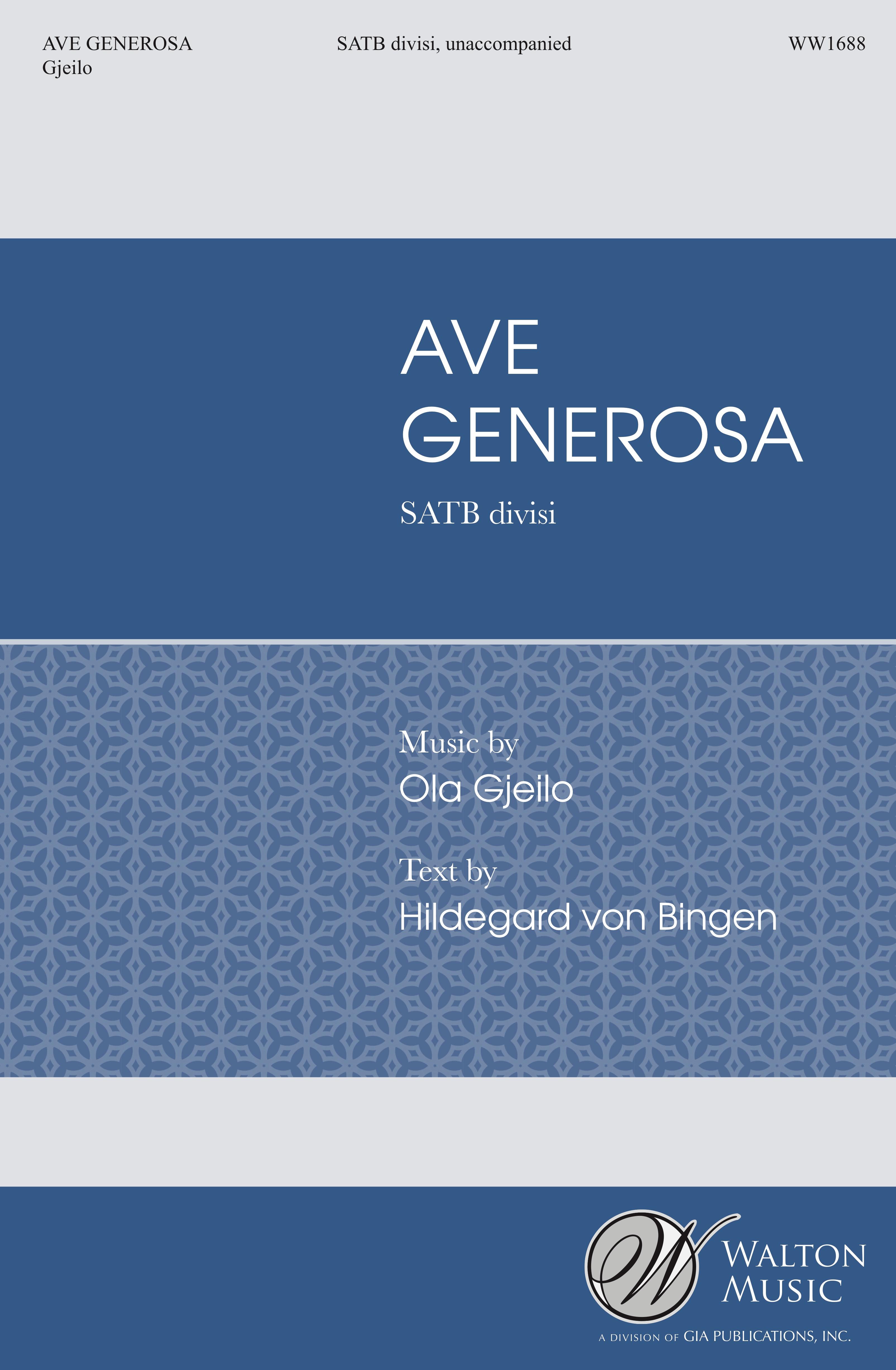 Choral : SATB a cappella | Ola Gjeilo